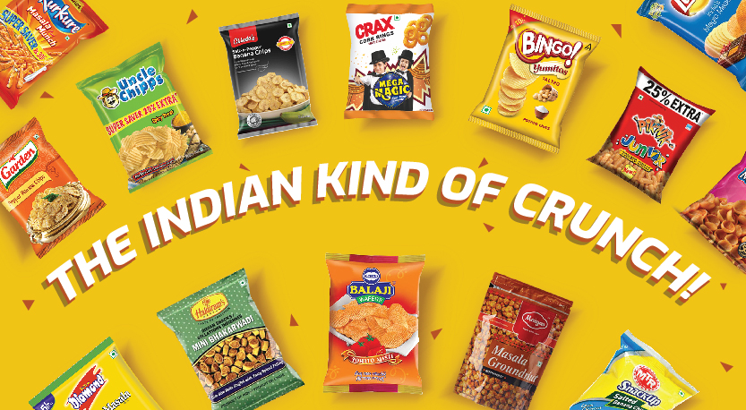 THE INDIAN KIND OF CRUNCH!